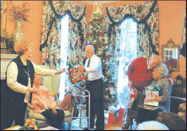 The Gifts Of Laughter and Music: Retired Teachers December Meeting