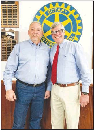 Rotary Meets Political Writer