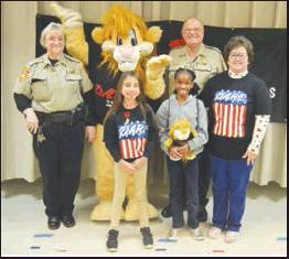 Winn Parish Students Graduate D.A.R.E. Program
