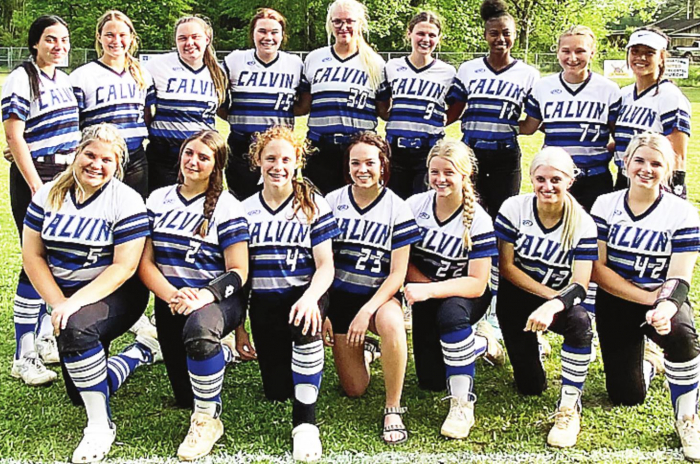 Calvin Softball team bring home District Championship