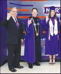 Calvin Alumni Top Graduate From NSULA