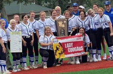 Calvin Lady Cougars 2021 Class C State Champions