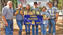 WSHS Forestry Team Places Highly at State