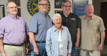 Rotary Club honors Carolyn Phillips and her accomplishments