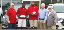 P.K. Smith Players of the Week