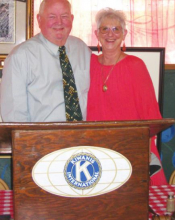 Winn Parish Superintendent spoke to Kiwanis Club