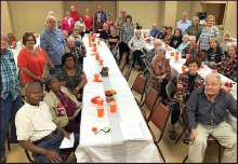 Sheriff Jordan Hosts Retired Teachers