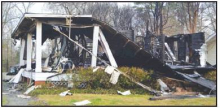 Home Devastated After Storm, Ravaged by Fire