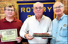 Rotary Club Learns About Impact of Railroads in Winn Parish