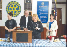 Building Goodwill at Rotary