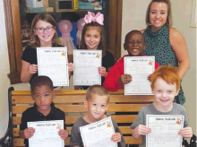 WPS Recognized Terrific Tiger Cubs