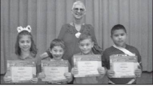 Kiwanis Club September 2019 Terrific Kids